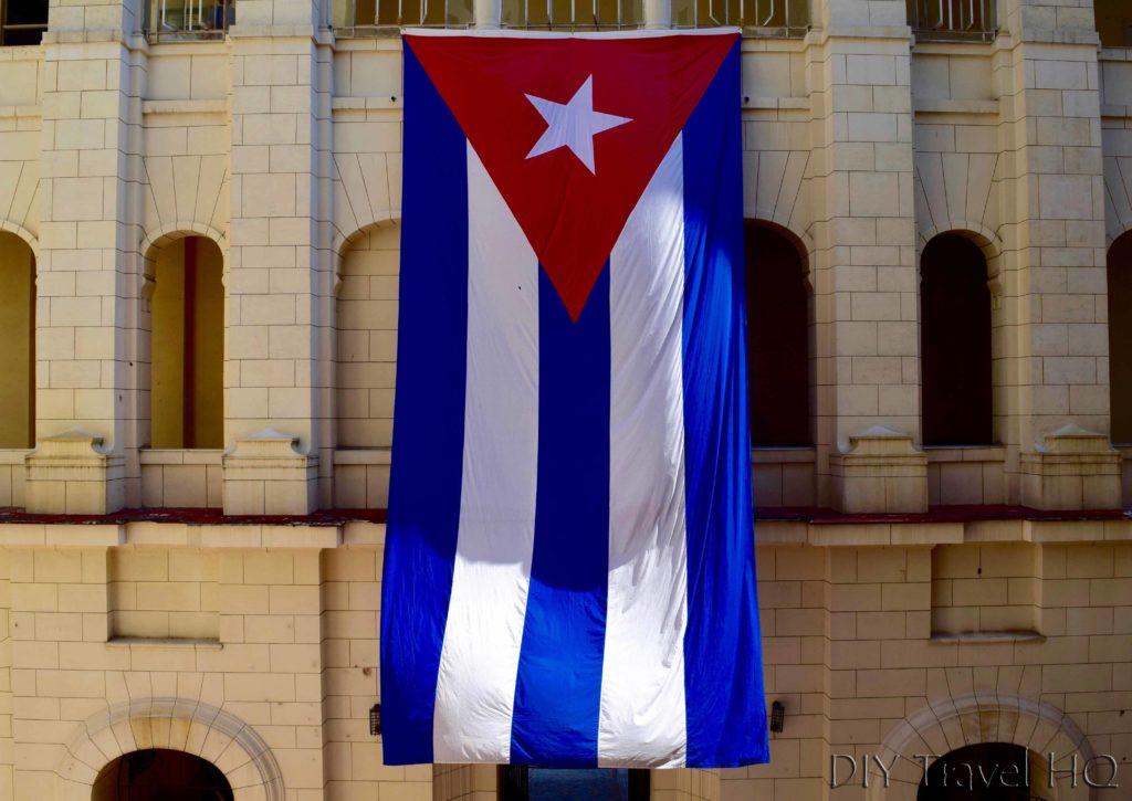 Cuba's Dual Currency Cuba Flag Hanging