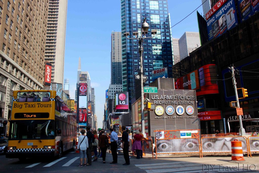 Times Square in Midtown
