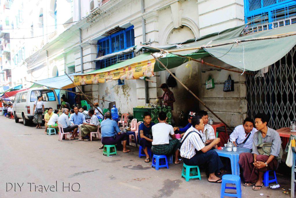 Street food in Yangon