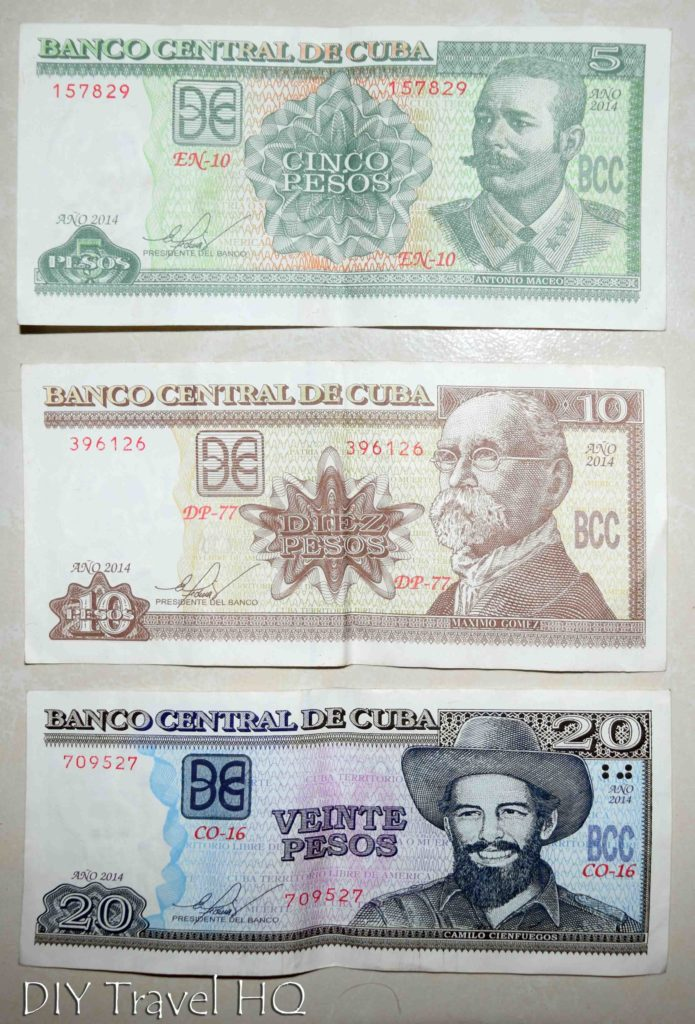 Examples Of Cup Currency In Cuban Money