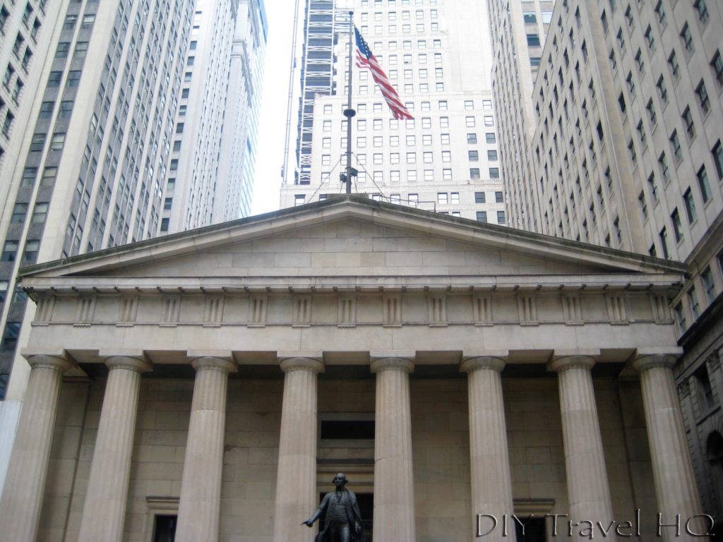 Federal Hall in Wall Street