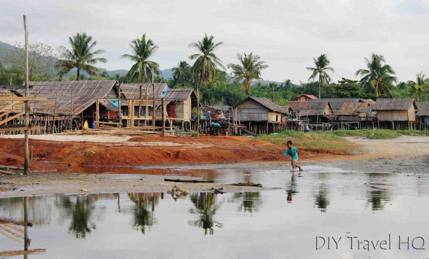 Fishing Village in Maungmagan
