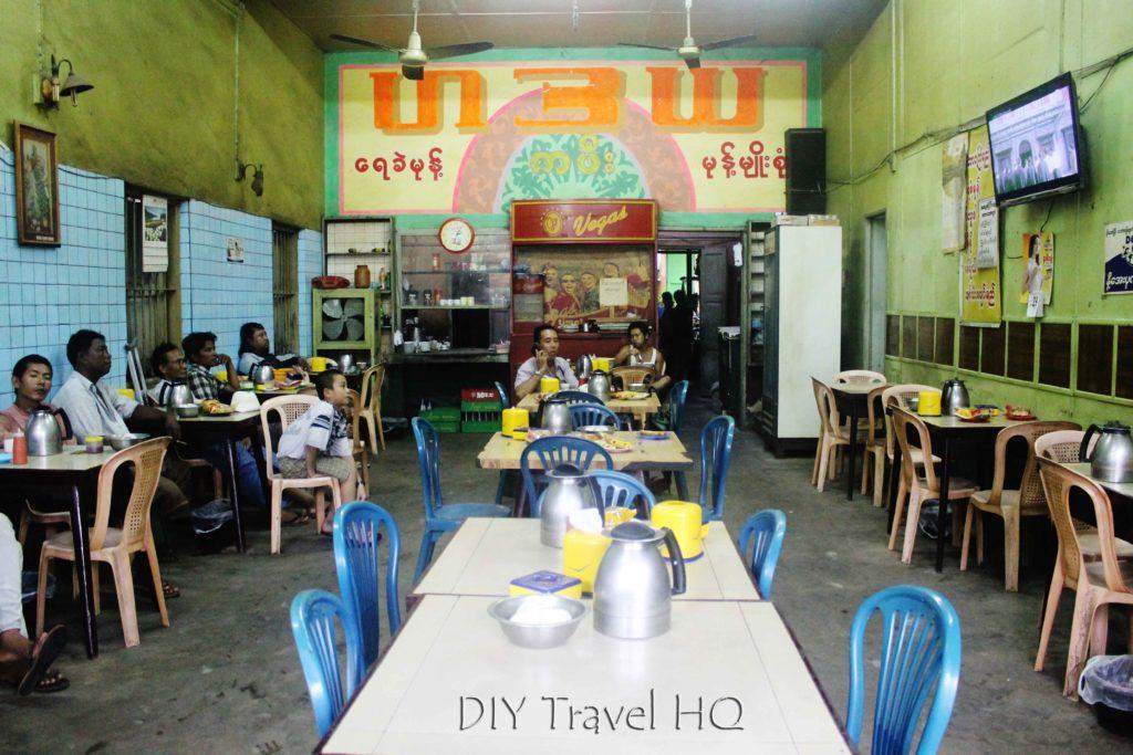 Hadaya Cafe in Bago