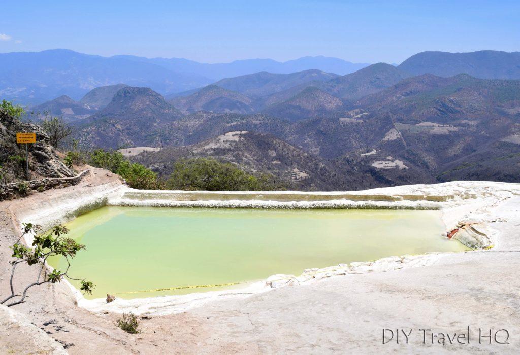Hierve el Agua Lower Pool