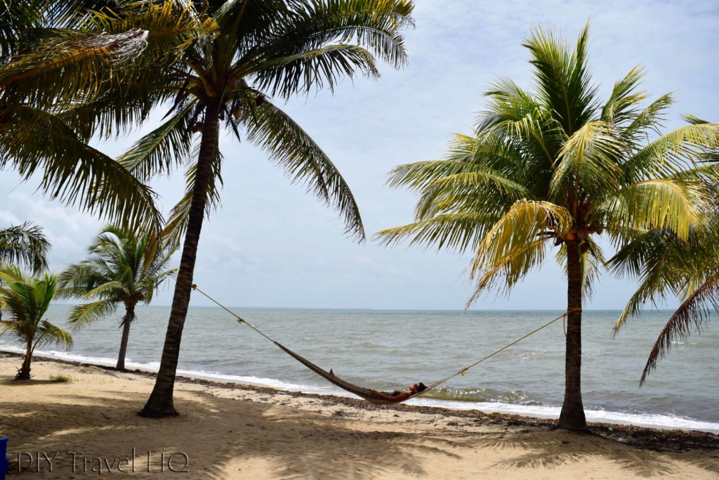 Hopkins Beach in Belize