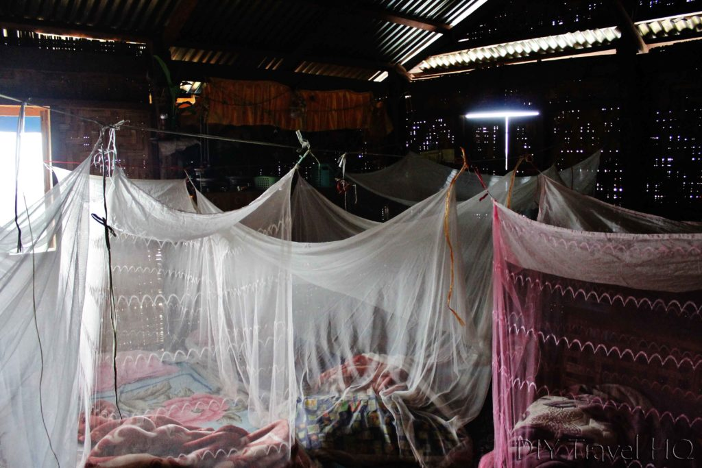 Accommodation on Hsipaw trek