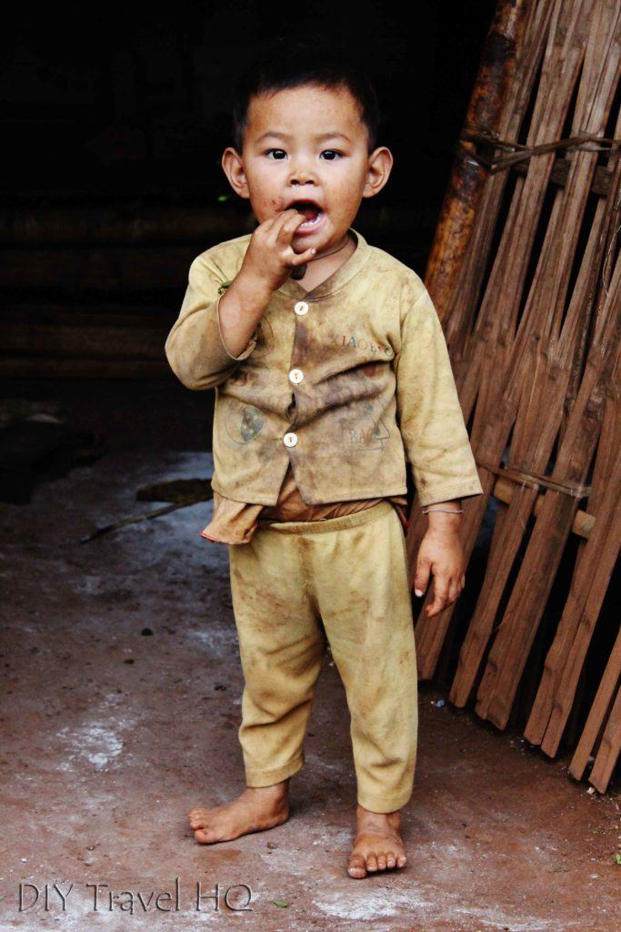 Boy in Hsipaw Trek Village