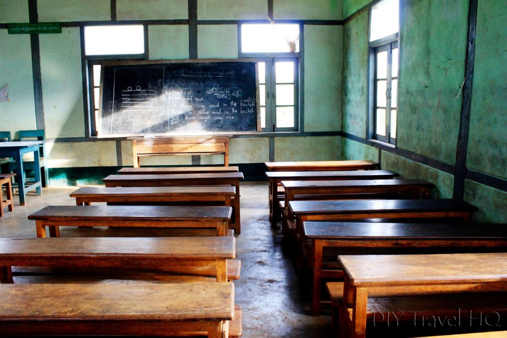 Classroom in Hsipaw Village