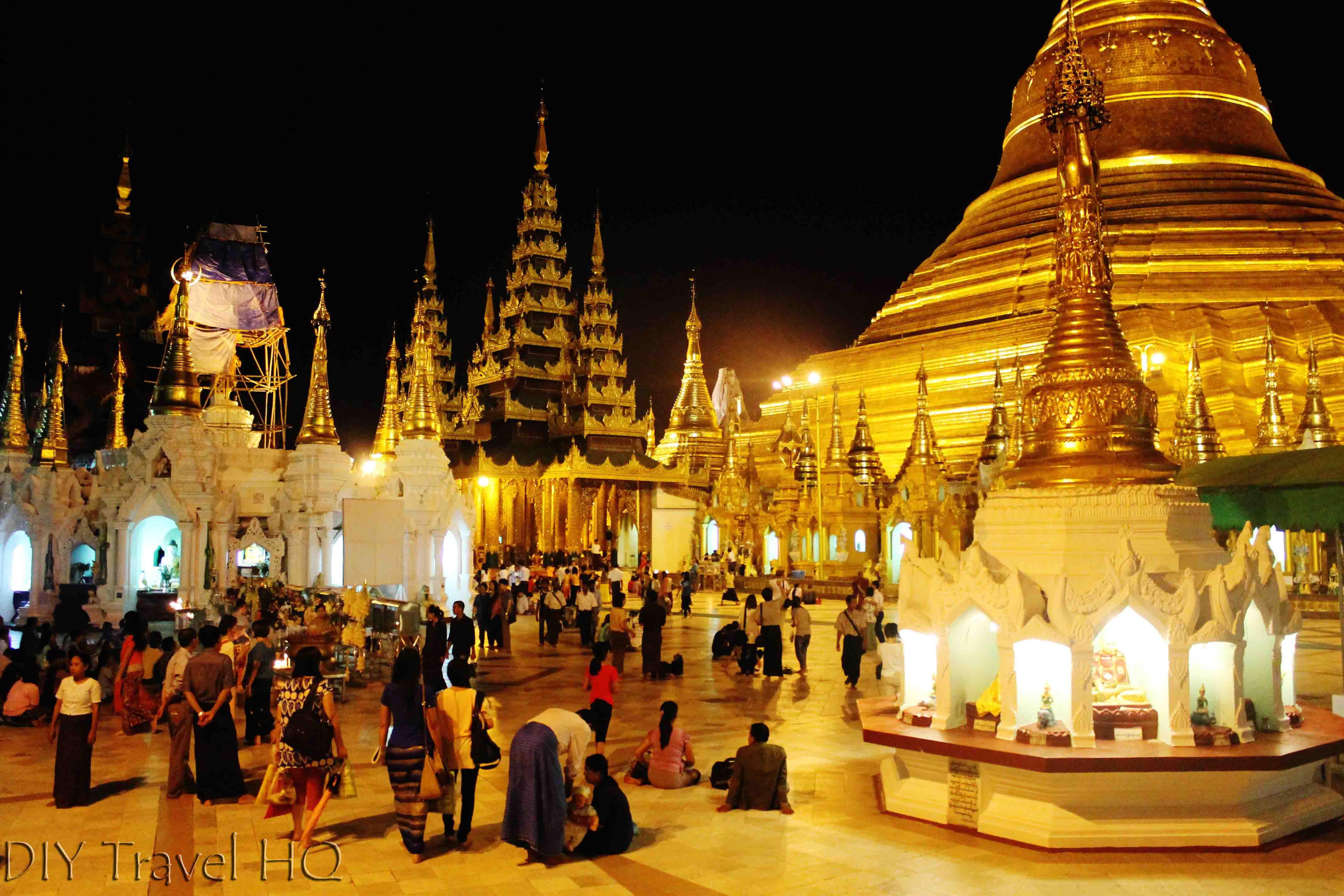 Shwedagon Pagoda: World's Most Beautiful Temple - DIY Travel HQ