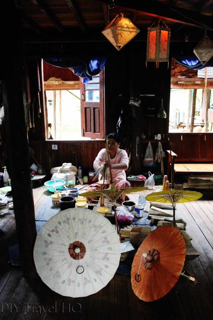 Paper & umbrella-making workshop