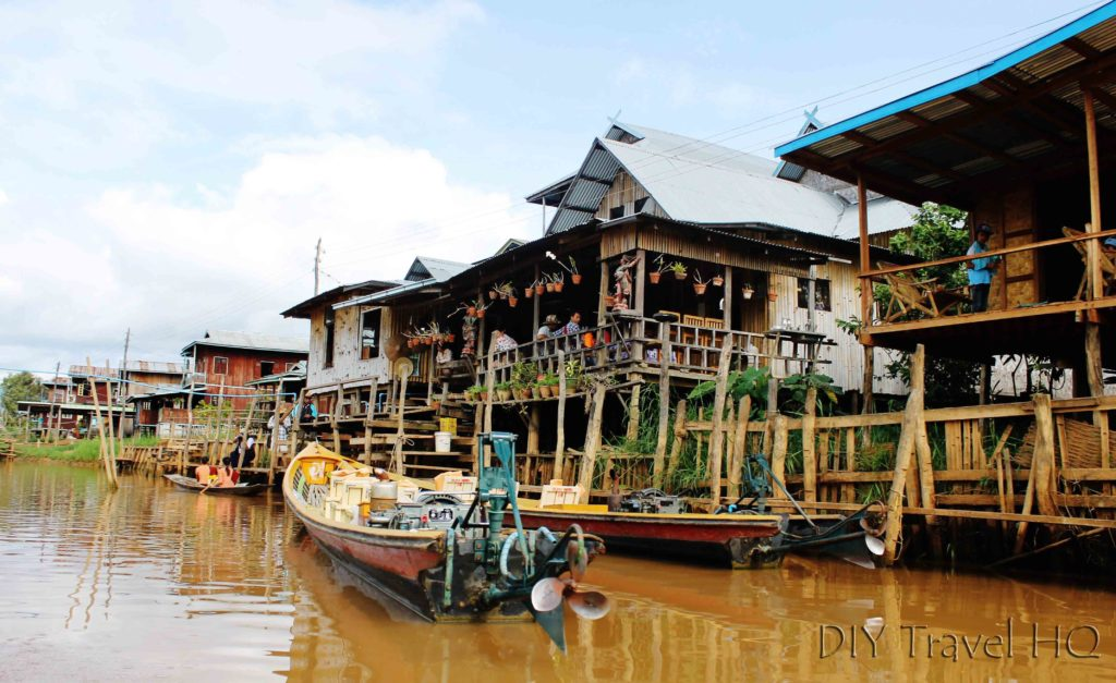 Ywama Village Stilt Buildings