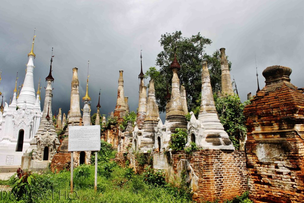 Things to do in Inle Lake Shwe Indein Pagoda
