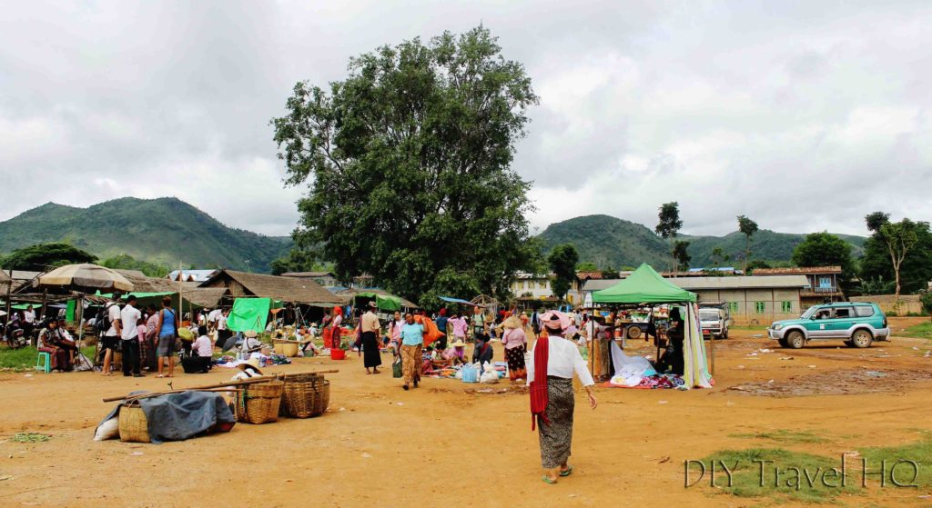 Indein Village market