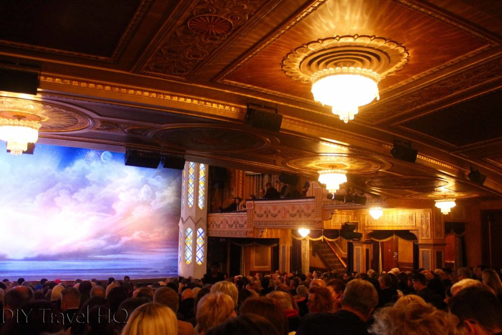 Standing room at Book of Mormon