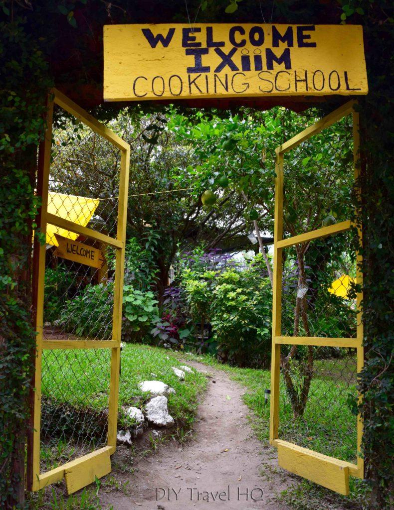 Ixiim Cooking School gates