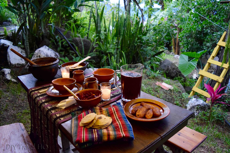 Dinner at Ixiim Cooking School