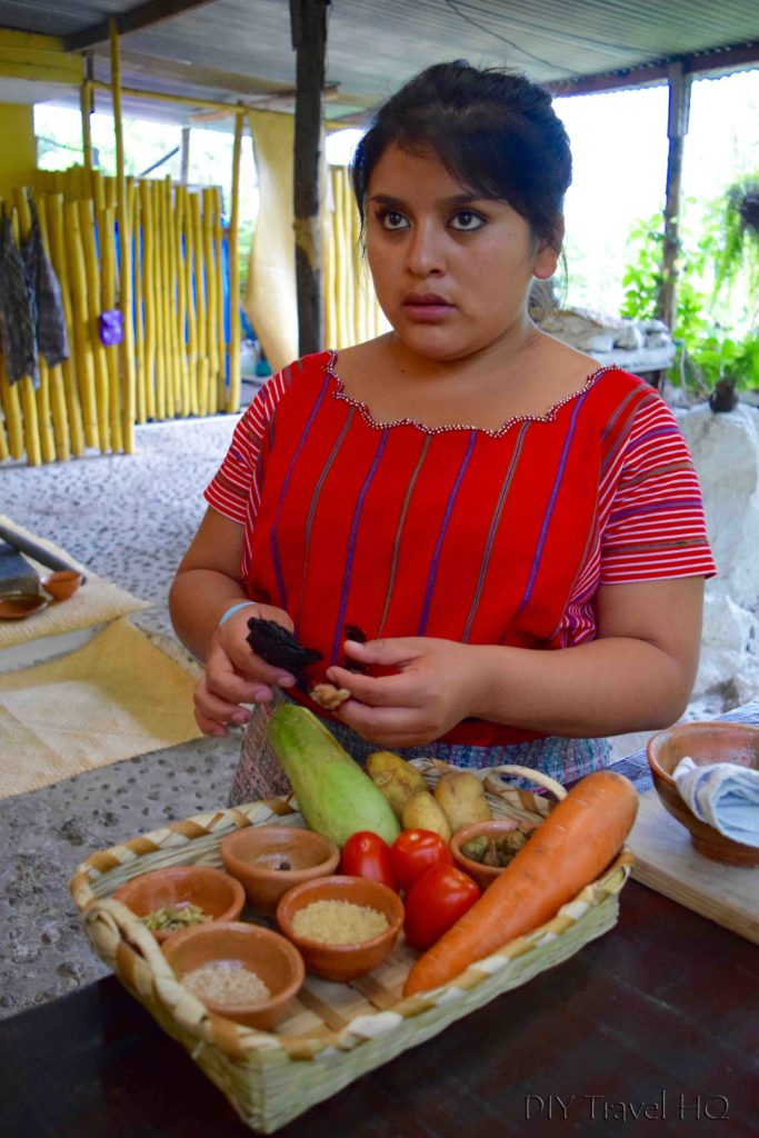 Shenni from Ixiim Cooking School