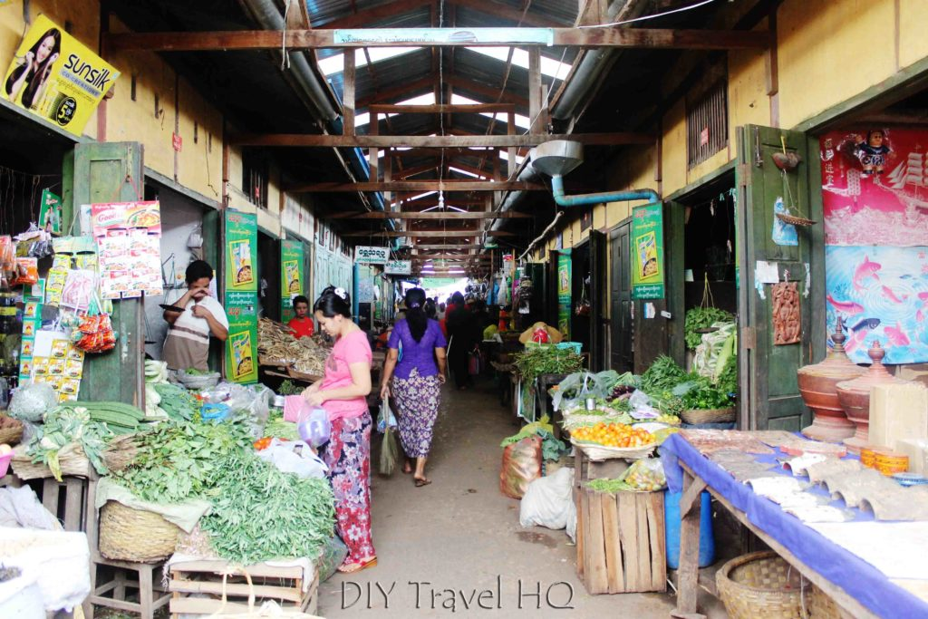 Central Market everyday in Kalaw
