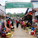 The Hilltop Station & Markets of Kalaw