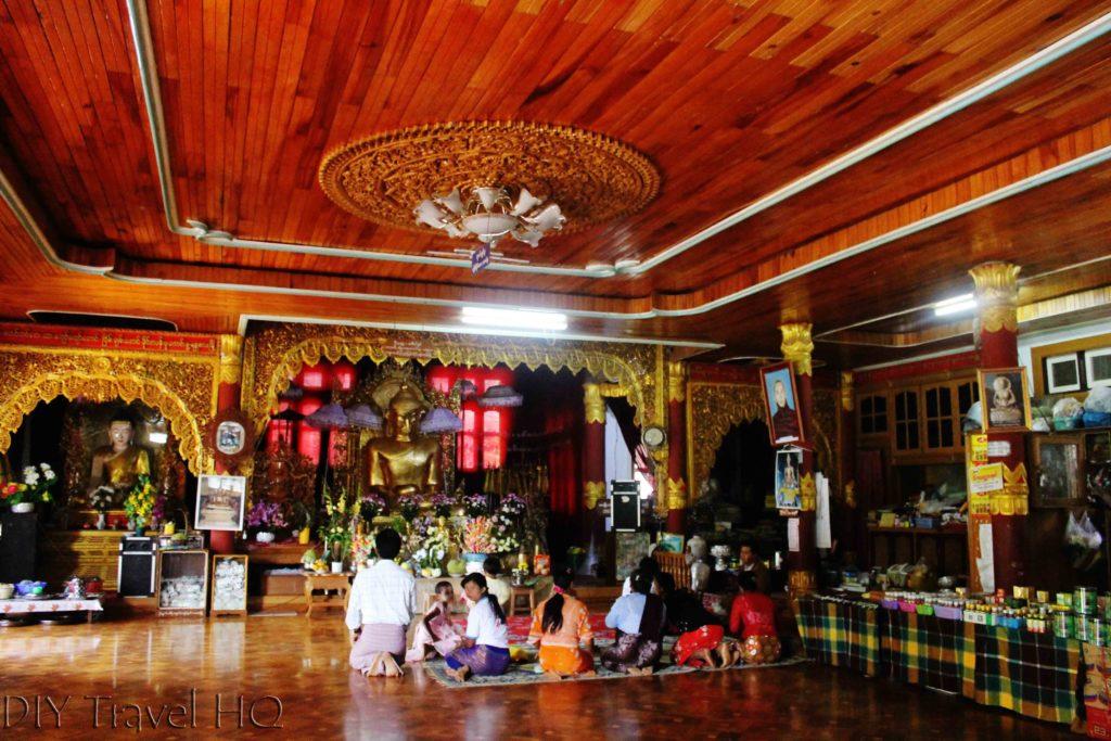Bamboo Buddha in Kalaw