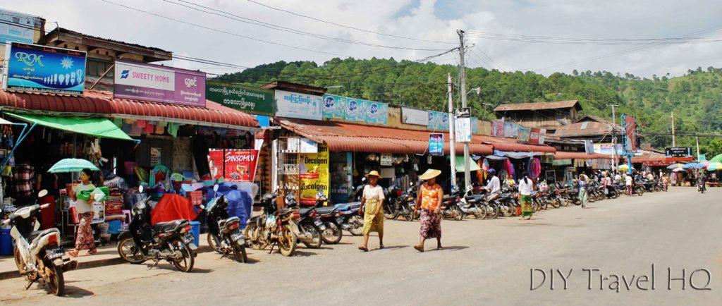 Main street in Kalaw
