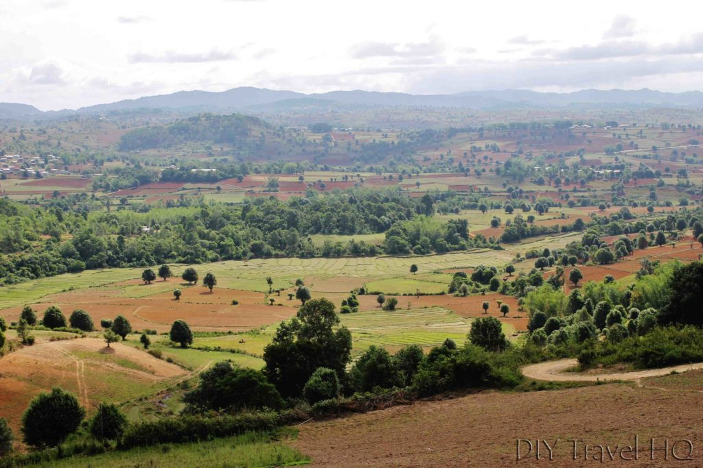 Kalaw trekking landscape