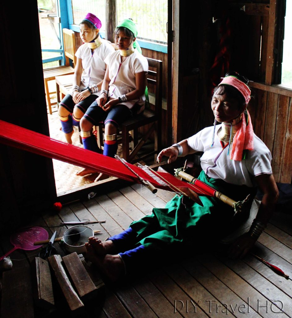 Karen Tribe Woman Inle Lake