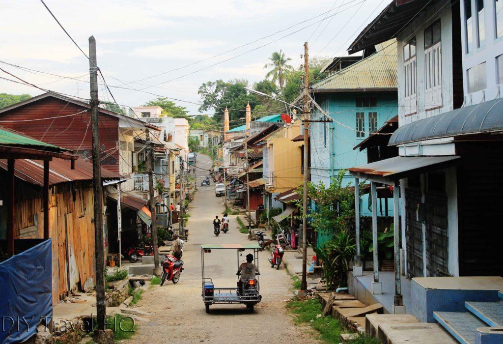 Charming Kawthaung town