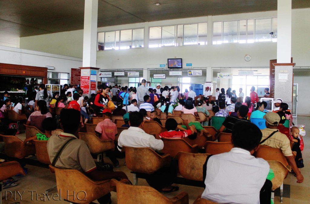 Check-in at Kawthaung Airport