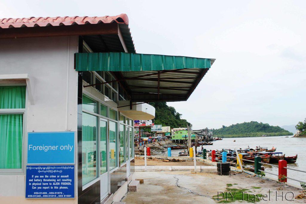 Kawthaung Border Building