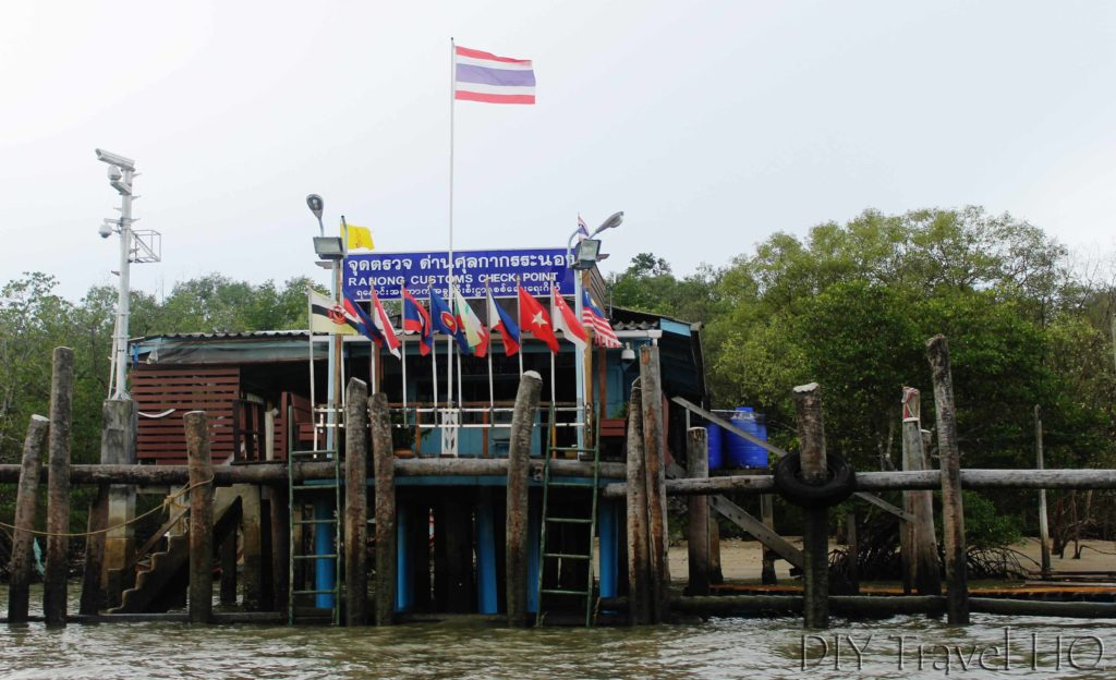 Thai Customs House Ranong Border