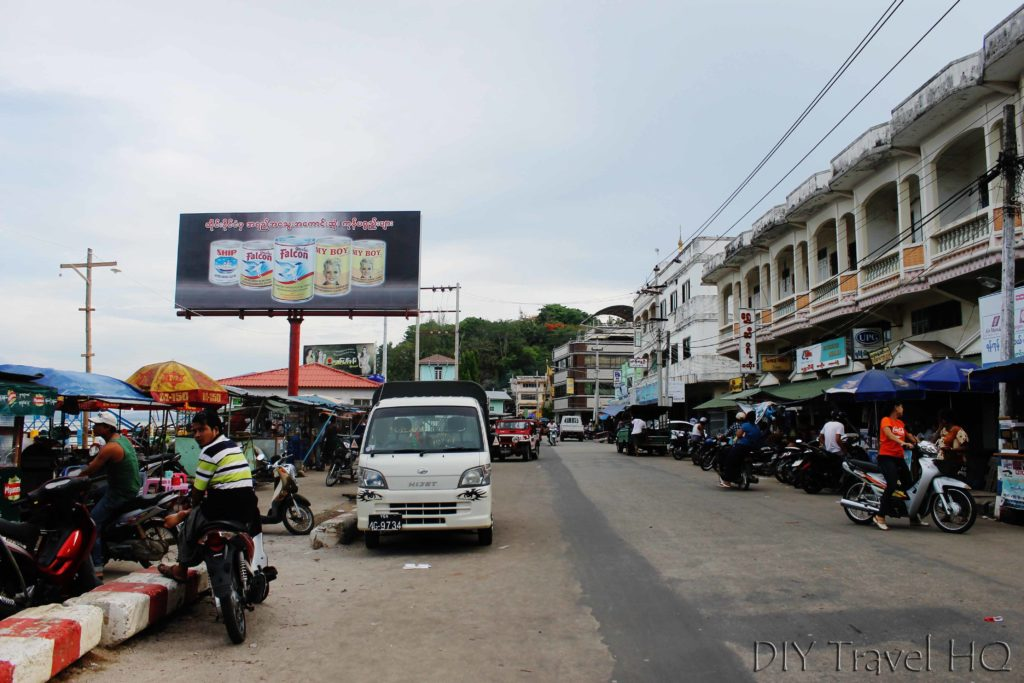 Kawthaung road to Immigration