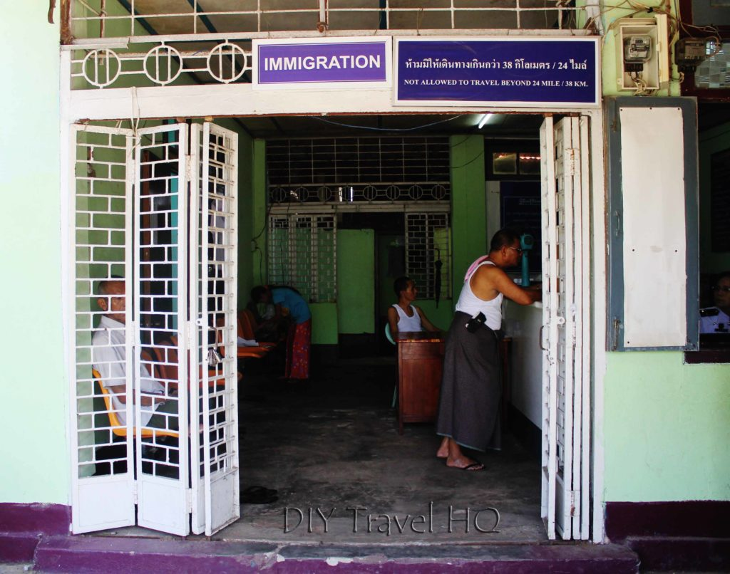 Immigration office in Kawthaung