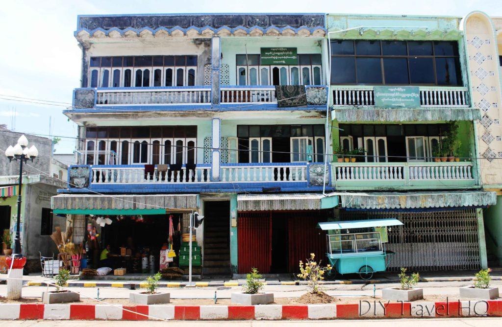 Shopfronts in Kawthaung