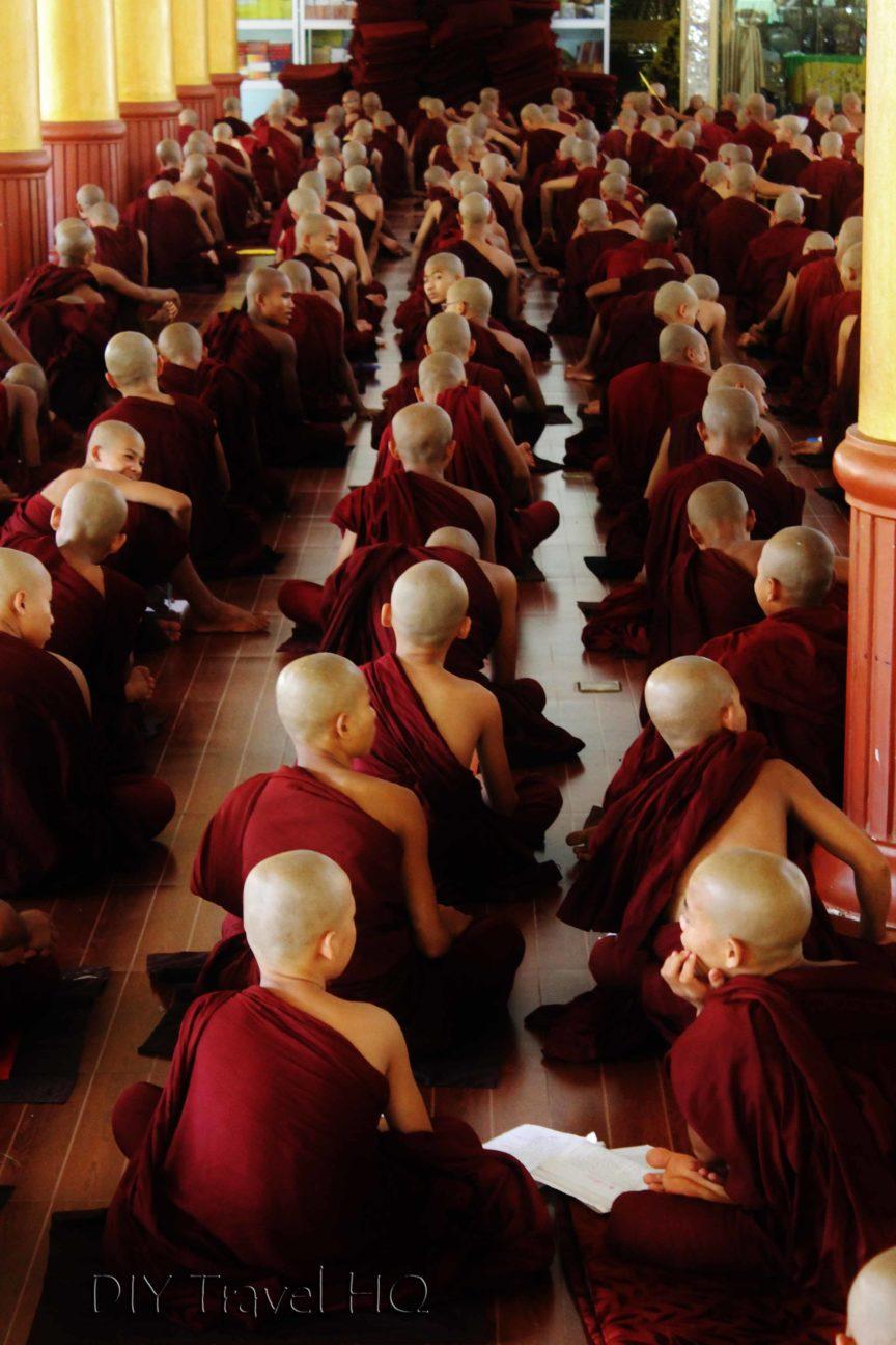 Kha Khat Wain Kyaung monastery
