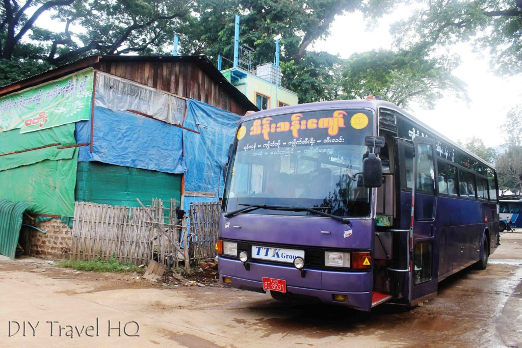 Bus from Kinpun to Bago