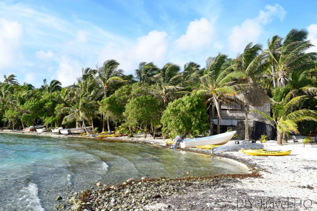 Leaving Glovers Atoll Resort