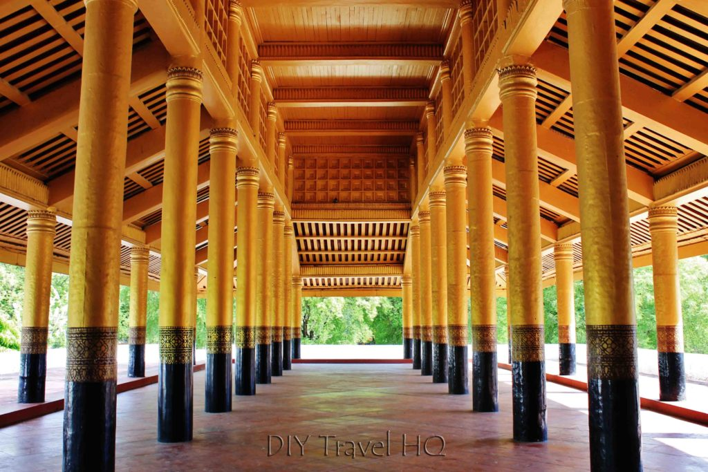 Hall in Mandalay Palace