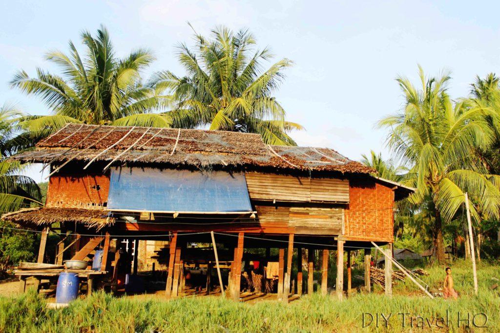 Maungmagan fishing village