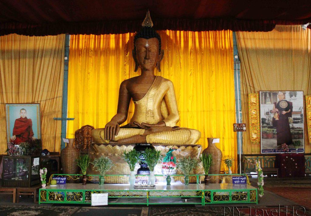Bamboo Buddha in Mawlamyine
