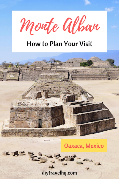 Monte Alban Ruins Mexico