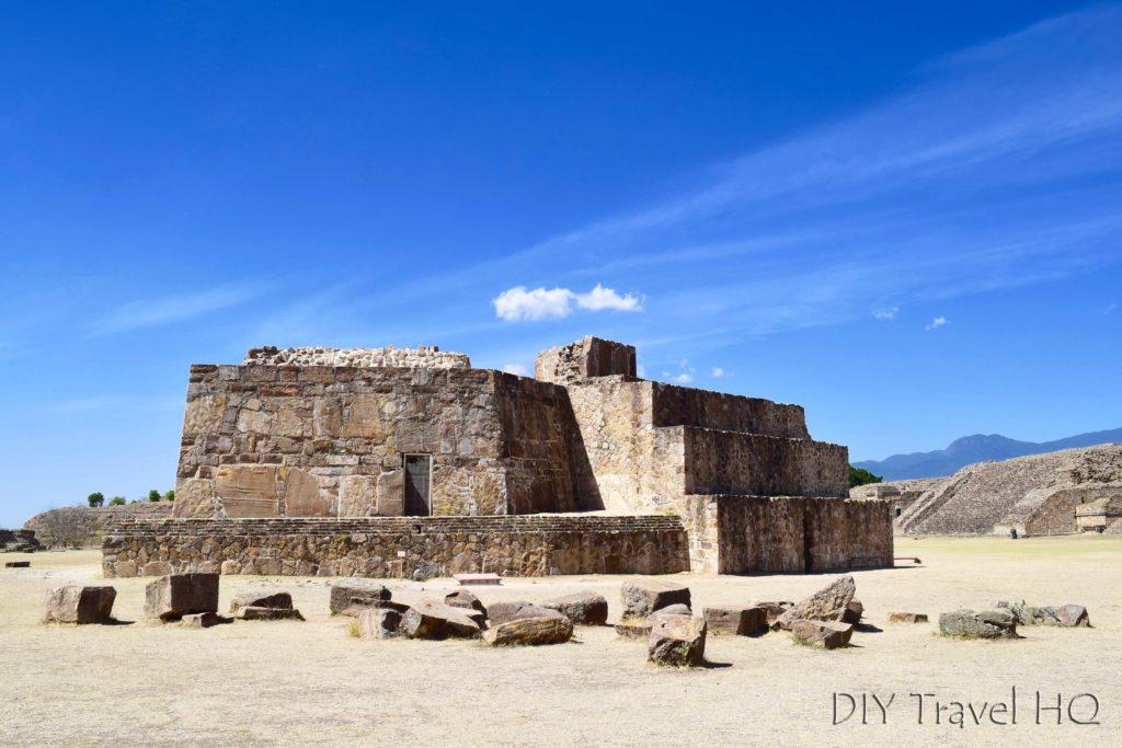 Monte Alban Ruins El Observatorio