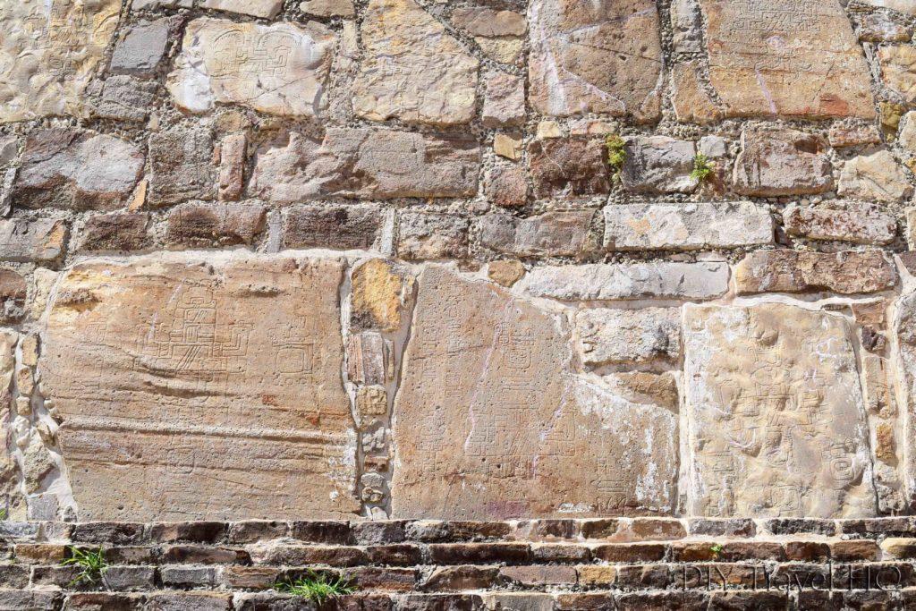 Monte Alban Ruins El Observatorio Conquest Hieroglyphs