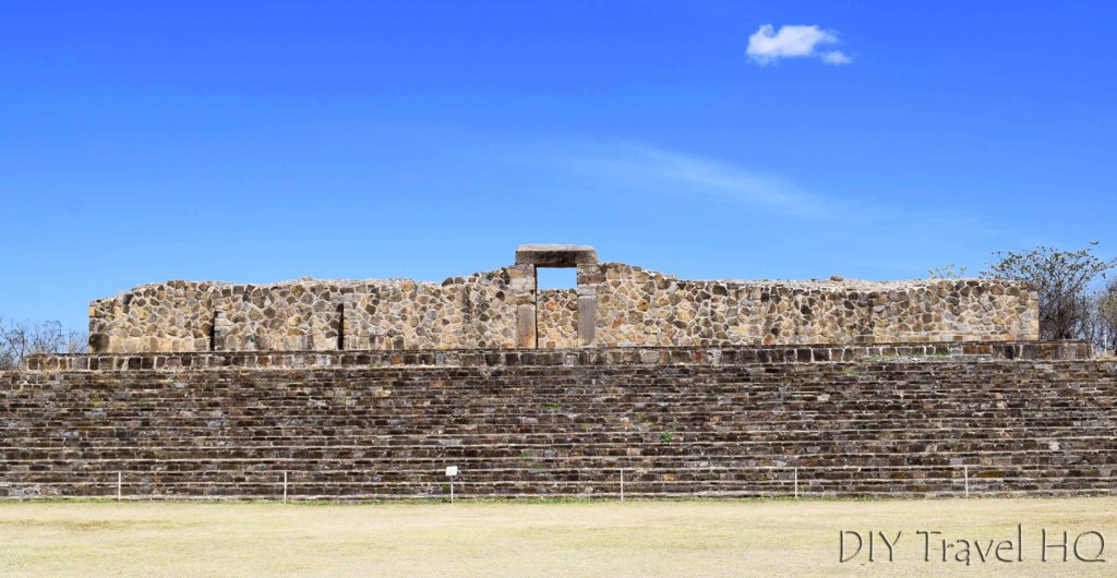 Monte Alban Ruins El Palacio
