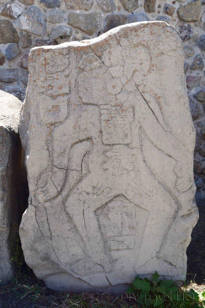 Monte Alban Ruins Galeria de los Danzantes Relief