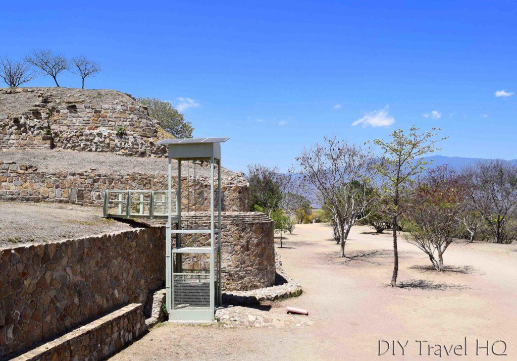 Monte Alban Ruins Handicap Accessible Elevator