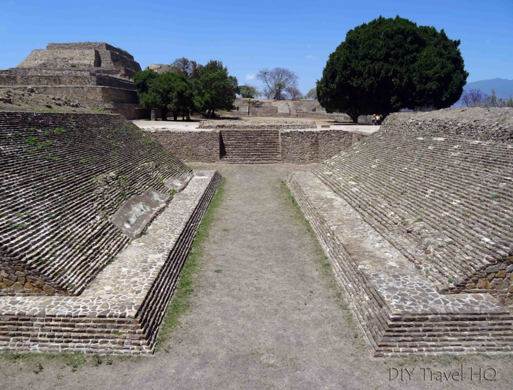 Monte Alban Ruins Juego de Pelota (Ball Court)