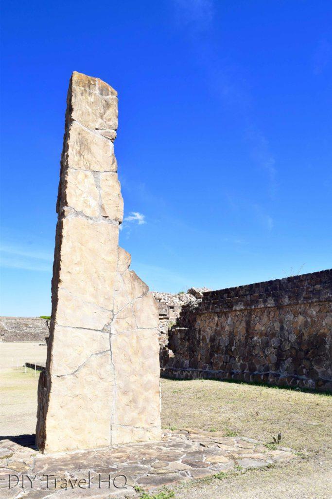 Monte Alban Ruins Stela 18