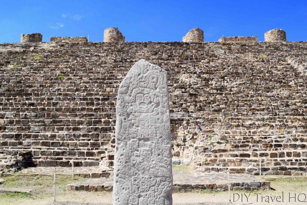 Monte Alban Ruins Stela 9