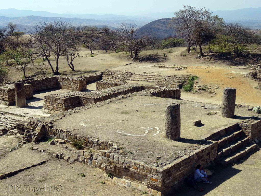 Monte Alban Ruins The VG Complex Columns